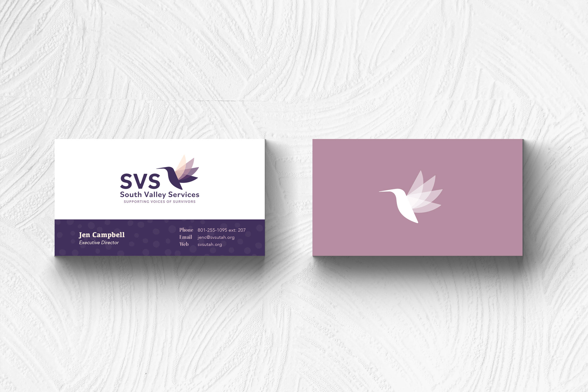 SVS business card