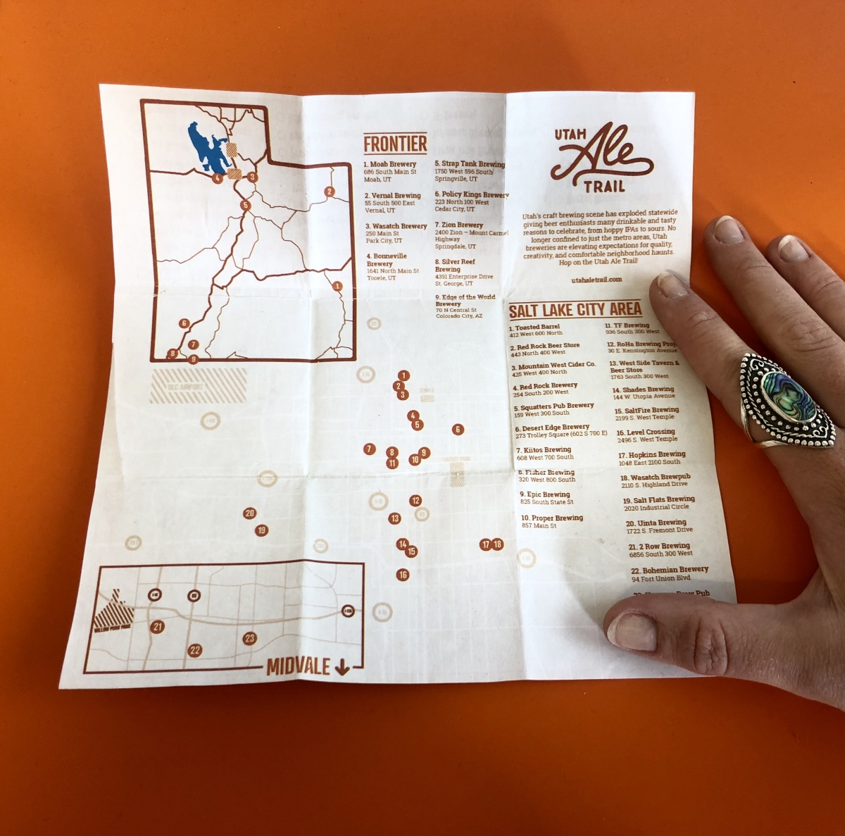 Get Outthe Map at theUtah Brewers Guild Fest