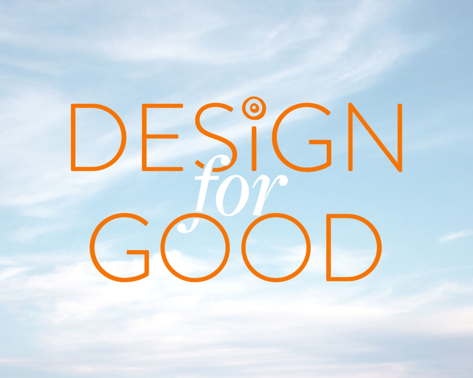 2019 Design for Good Launch